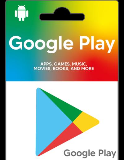Comprar tarjeta google play