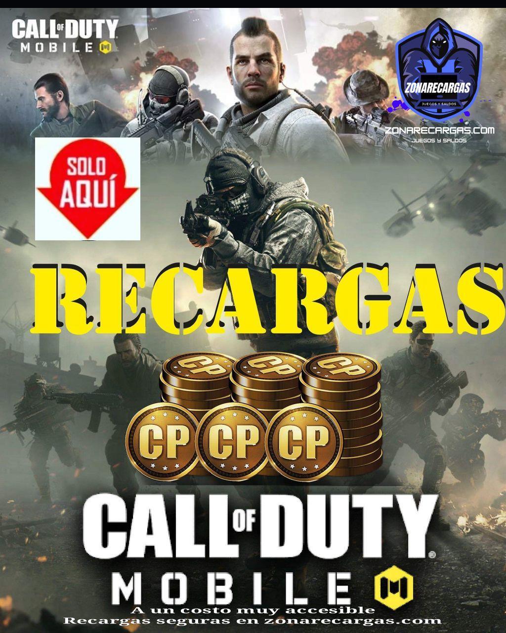 recargas call of dutty