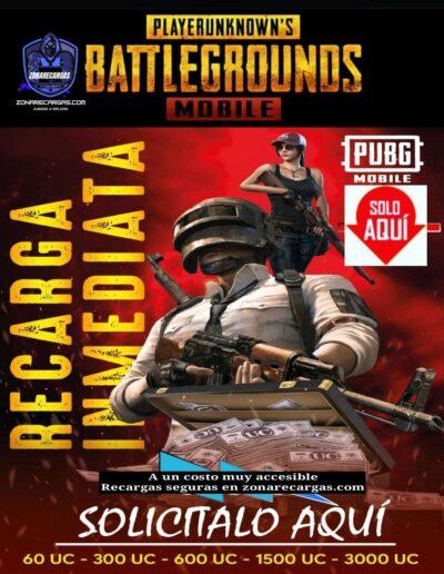 recarga pugb mobile
