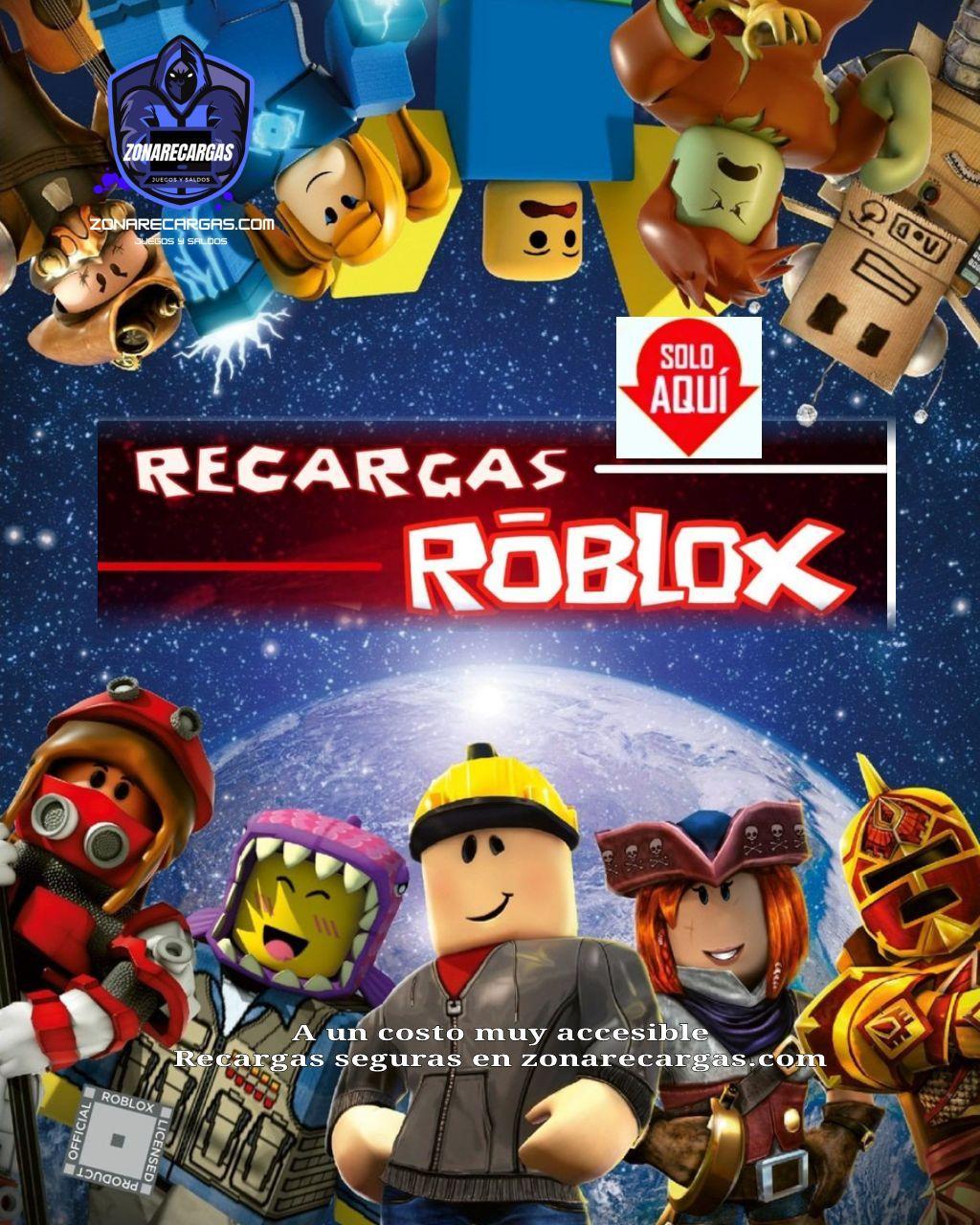 recargas roblox