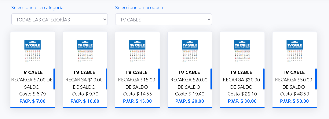COMISIONES TVCABLE